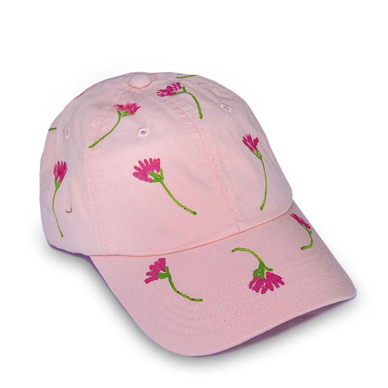 Pink Single Flowers Laurie Jo Designs