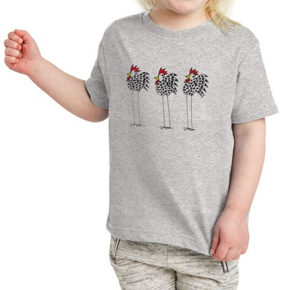 SS-Toddler-T-grey-3-chickens