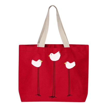 Tote-red-3-long-legged-birds