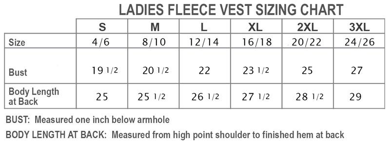 fleece-vest-sizingChart