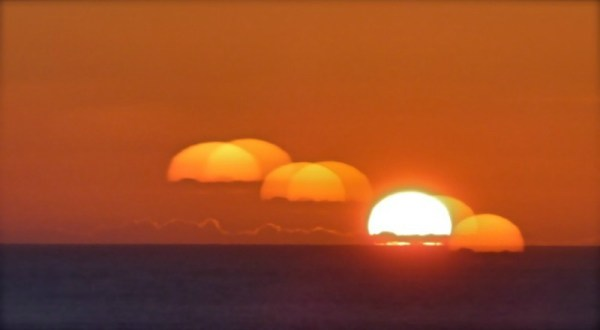 sequential sunset