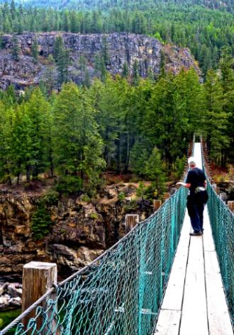 beating the butterflies, walking the bridge