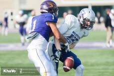 20170324 - Kha Vo - Laurier Football scrimmage vs Western_-153