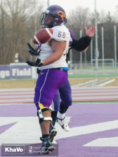 20170324 - Kha Vo - Laurier Football scrimmage vs Western_-265