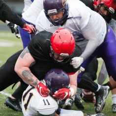 20170331 - Kha Vo - Laurier Football scrimmage vs Guelph_-134