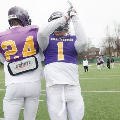 20170331 - Kha Vo - Laurier Football scrimmage vs Guelph_-24