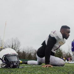 20170331 - Kha Vo - Laurier Football scrimmage vs Guelph_-50