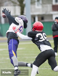 20170331 - Kha Vo - Laurier Football scrimmage vs Guelph_-110