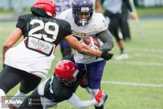20170331 - Kha Vo - Laurier Football scrimmage vs Guelph_-149