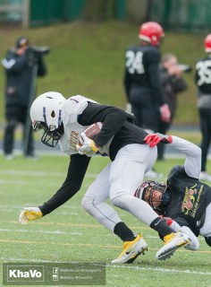 20170331 - Kha Vo - Laurier Football scrimmage vs Guelph_-81
