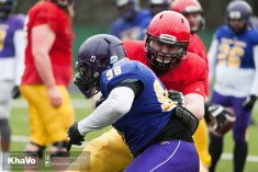 20170331 - Kha Vo - Laurier Football scrimmage vs Guelph_-88