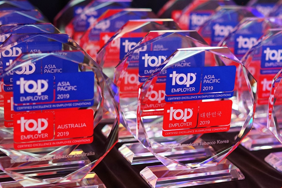 Top Employers Institute APAC Certification Dinner 2019