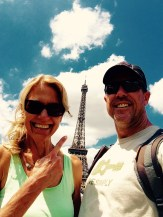 eiffel tower selfie- my need