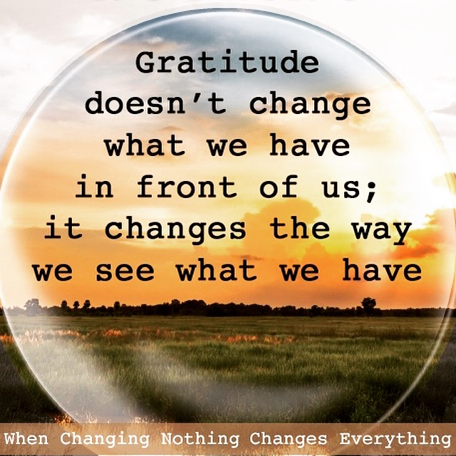Grief and Gratitude