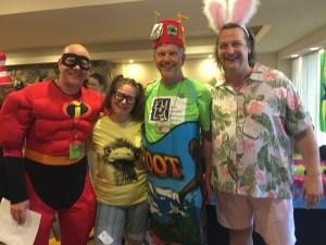 EMLA costume party