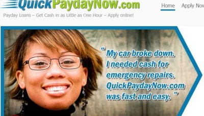 payday loan ad