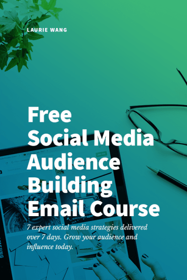 free social media email course