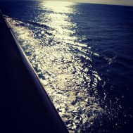 We sail