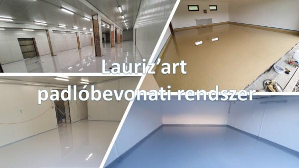 Lauriz'art epoxi padlóbevonati rendszer