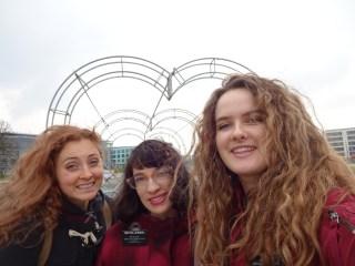 Heart Bridge with the TRIO of Siostras!
