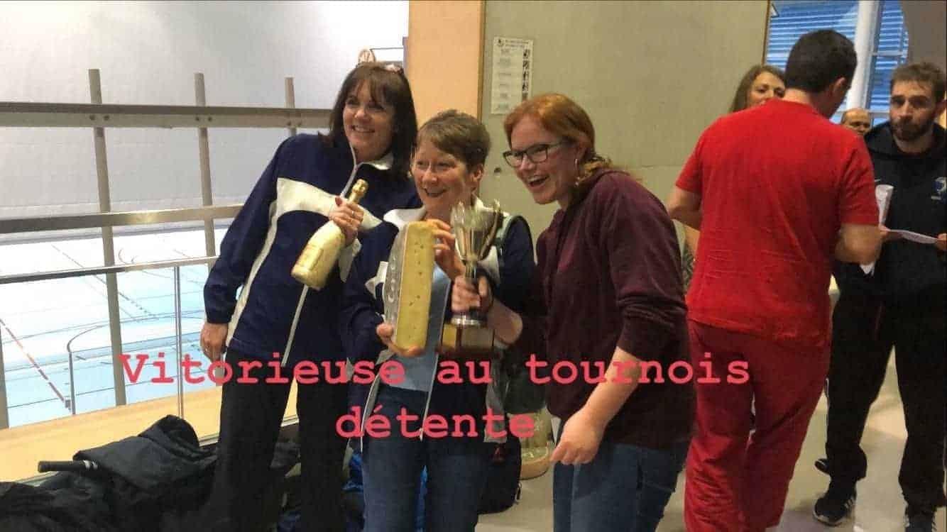 """Vainqueurs du tournoi dans la catégorie """"Tournoi détente"""""""
