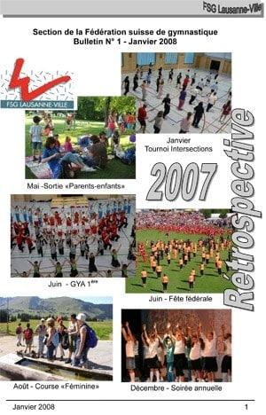 Journal 2008 – Janvier