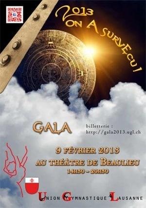 Gala de l'Union Gymnastique de Lausanne 2013