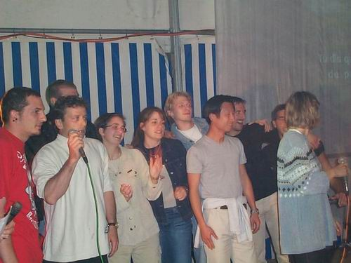 2001 – Les Actifs au tournoi d'Attalens (9 et 10 juin)