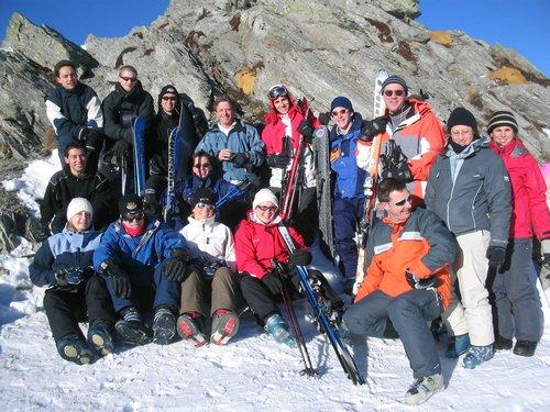 2005 – Week-end à ski des Actifs aux Marécottes