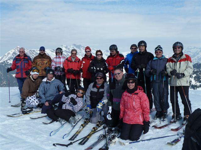 2012 – Sortie à ski des GH – Séniors à Villars (3 mars)