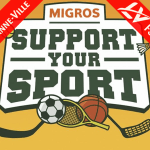 Campagne de crossfunding Migros #SupportYourSport
