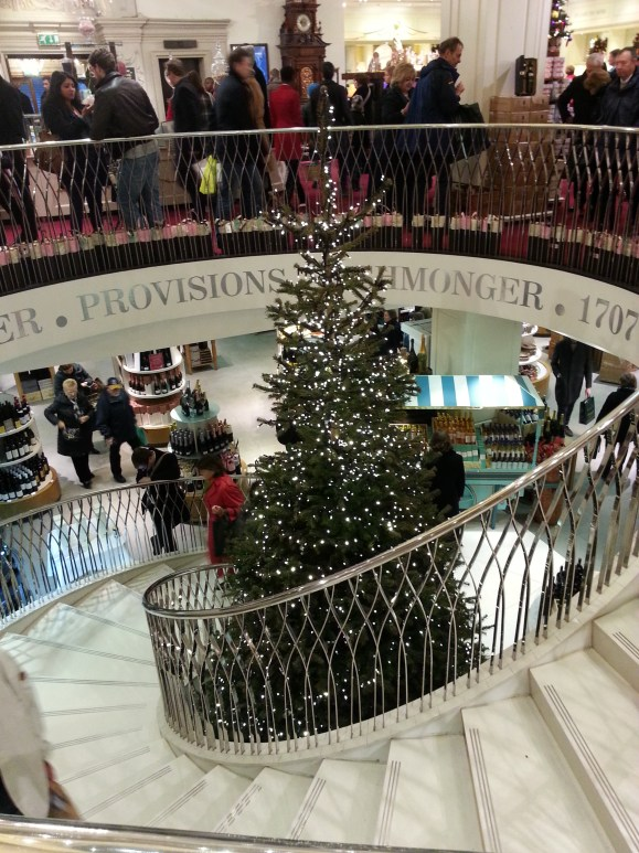 Christmas in Fortnum and Mason