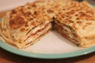 pesto pancakes