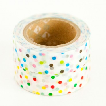 Spotted washi tape
