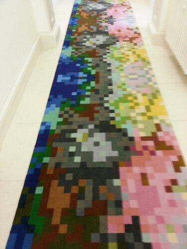 Carpet at the exhibit