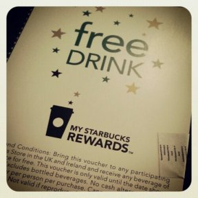 Free drink time