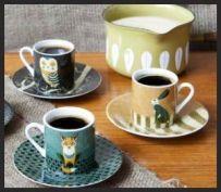 Wildlife Espresso set