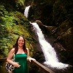 Fifibean at Dolgoch Falls