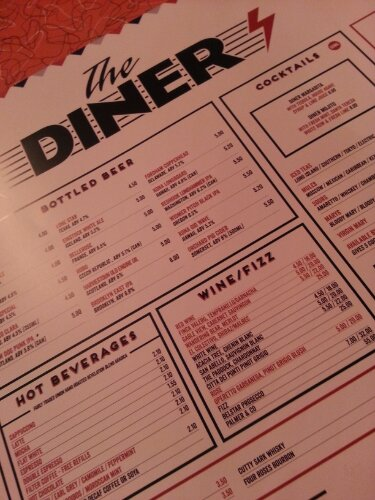 The Diner again