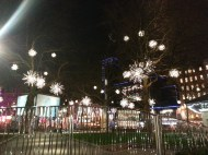 Lights in Leicester Square