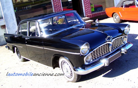 simca pr sidence 1958 1961 l 39 automobile ancienne. Black Bedroom Furniture Sets. Home Design Ideas