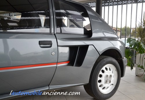 peugeot 205 turbo 16 s rie 200 1984 l 39 automobile ancienne. Black Bedroom Furniture Sets. Home Design Ideas