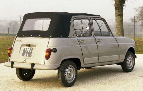 renault 4 d couvrable heuliez 1981 l 39 automobile ancienne. Black Bedroom Furniture Sets. Home Design Ideas