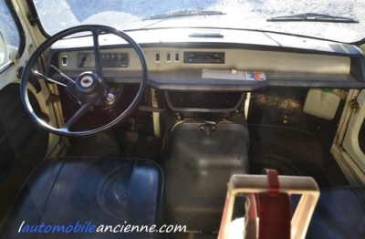 Renault estafette teilhol meubles marcou 1977 l for Interieur estafette