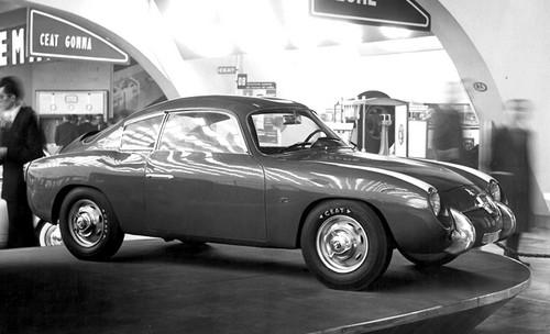 abarth fiat 750 zagato  1956