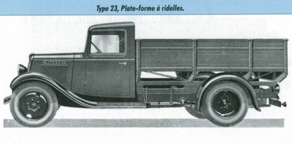 citro n u23 l 39 automobile ancienne. Black Bedroom Furniture Sets. Home Design Ideas