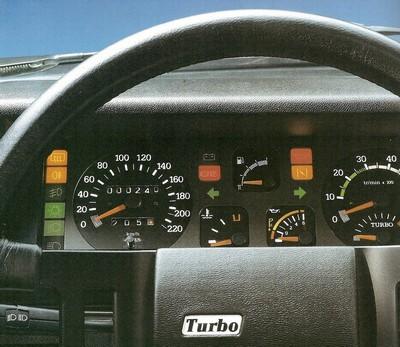 Renault 9 turbo 1984 1989 l 39 automobile ancienne for Renault 9 interieur