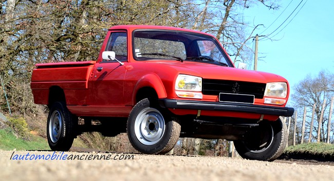 peugeot 504 pick up dangel 1983 l 39 automobile ancienne. Black Bedroom Furniture Sets. Home Design Ideas