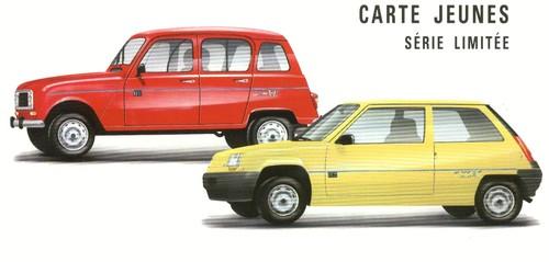 Renault 4 Carte Jeunes (1991) | l'automobile ancienne