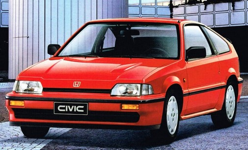 honda civic crx 1983 1987 l 39 automobile ancienne. Black Bedroom Furniture Sets. Home Design Ideas